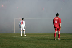 Ciudad derby 3 del fútbol Imagenes de archivo