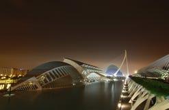 Ciudad des artes y ciencias,巴伦西亚 库存图片