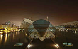 Ciudad des artes y ciencias, valencia Royalty Free Stock Photo