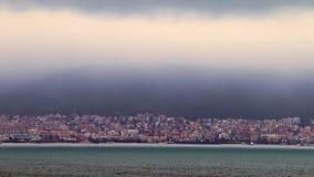 Ciudad detrás de la bahía metrajes