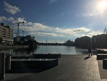 Ciudad Dublín Imágenes de archivo libres de regalías