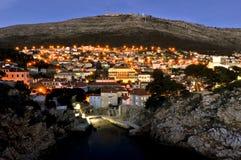 Ciudad Dubrovnik fotografía de archivo