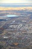 Ciudad Edmonton Imagen de archivo libre de regalías
