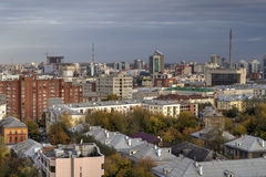 Ciudad Ekaterimburgo Imagen de archivo