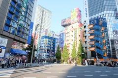Ciudad electrónica Tokio Japón Foto de archivo