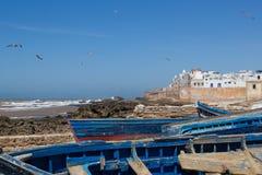 Ciudad emparedada cerca de Océano Atlántico Fotografía de archivo