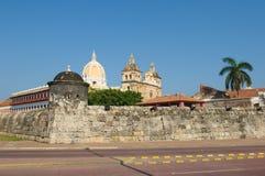 Ciudad emparedada de Cartagena, Colombia Imagen de archivo libre de regalías