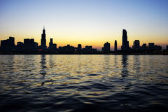 Ciudad en el agua imagen de archivo libre de regalías