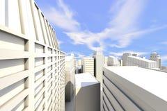 Ciudad en el Sun libre illustration
