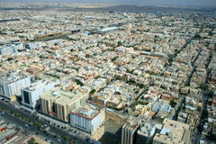 Ciudad en la Arabia Saudita Imagenes de archivo