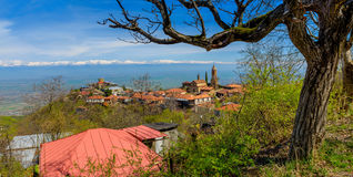 ciudad en la montaña fotos de archivo libres de regalías