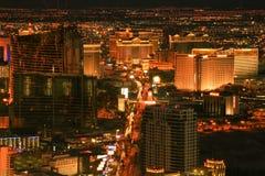 Ciudad en la noche Imágenes de archivo libres de regalías
