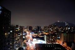 Ciudad en la noche Fotografía de archivo libre de regalías