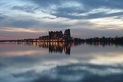 Ciudad en la nube Foto de archivo