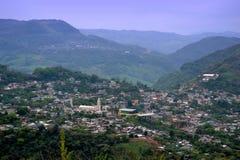 Ciudad en México foto de archivo libre de regalías