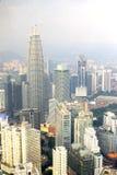 Ciudad en Malasia Imagenes de archivo