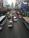 Ciudad en Tailandia Imagen de archivo libre de regalías