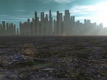 Ciudad en tierras estériles