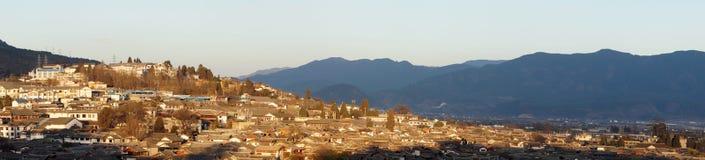 Ciudad en Yunnan, Lijiang Foto de archivo