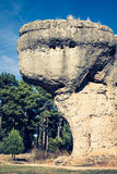 The Ciudad Encantada (Enchanted City), Cuenca (Spain) Royalty Free Stock Photo