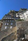 Ciudad episcopal en Rocamadour, Francia Fotografía de archivo