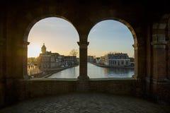 Ciudad europea Imagenes de archivo