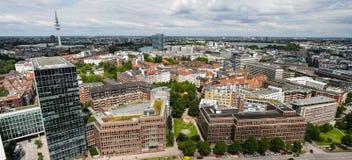 Ciudad europea moderna Fotos de archivo libres de regalías