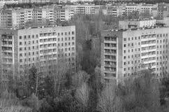 Ciudad fantasmagórica Imágenes de archivo libres de regalías