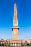 Ciudad Francia de la plaza de la Concordia París del obelisco fotografía de archivo