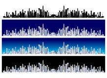Ciudad futura Fotografía de archivo libre de regalías