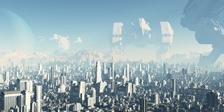 Ciudad futura - veteranos de guerras olvidadas libre illustration