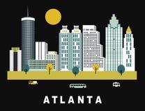 Ciudad Georgia de Atlanta libre illustration