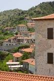 Ciudad Grecia de Dimitsana imagen de archivo libre de regalías