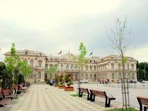 Ciudad Hall Bacau Imagen de archivo libre de regalías