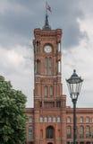 Ciudad Hall Berlin Imágenes de archivo libres de regalías