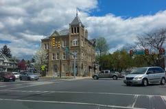 Ciudad Hall Bloomsburg Pennsylvania Fotografía de archivo