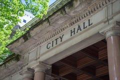 Ciudad Hall Building Fotografía de archivo