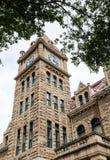 Ciudad Hall Clock Tower de Calgary imagen de archivo