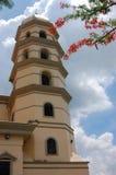 Ciudad Hall Clock Tower de Manila Foto de archivo libre de regalías
