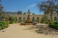 Ciudad Hall Courtyard de Pasadena imagenes de archivo