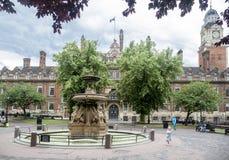 Ciudad Hall Leicester England Fotografía de archivo libre de regalías