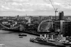 Ciudad Hall London Fotos de archivo