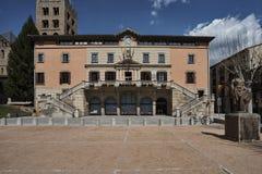 Ciudad Hall Ripoll Foto de archivo