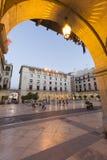 Ciudad Hall Square de la ciudad de Alicante Fotografía de archivo
