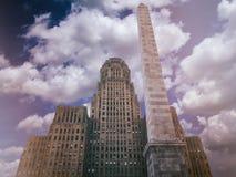 Ciudad Hall Vintage del búfalo Fotos de archivo