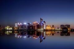 Ciudad Hangzhou de China Foto de archivo libre de regalías