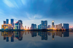 Ciudad Hangzhou de China Fotografía de archivo libre de regalías