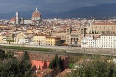 Ciudad hermosa de Florencia Imágenes de archivo libres de regalías