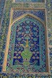 Ciudad hermosa de Uzbekistán de los monumentos arquitectónicos de Samarkand y de Bukhara fotografía de archivo libre de regalías
