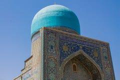 Ciudad hermosa de Uzbekistán de los monumentos arquitectónicos de Samarkand y de Bukhara imagen de archivo libre de regalías